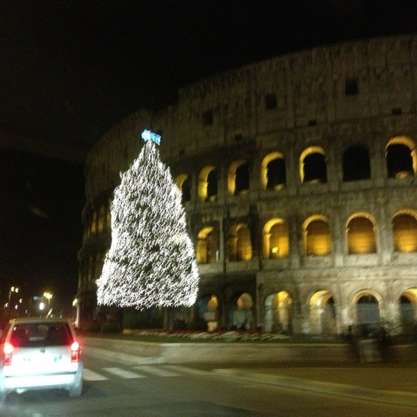 Photo taken at Piazza del Colosseo by Vladimir S. on 12/22/2012