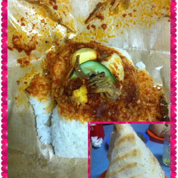 Nasi lemak is best..if they put a piece of banana leave lagi best lagi harum lagi sedap...