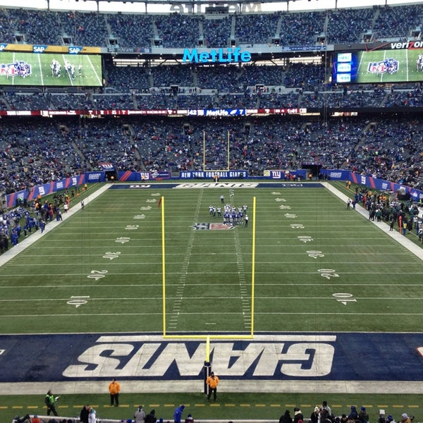 Photo taken at MetLife Stadium by Lalo E. on 12/30/2012