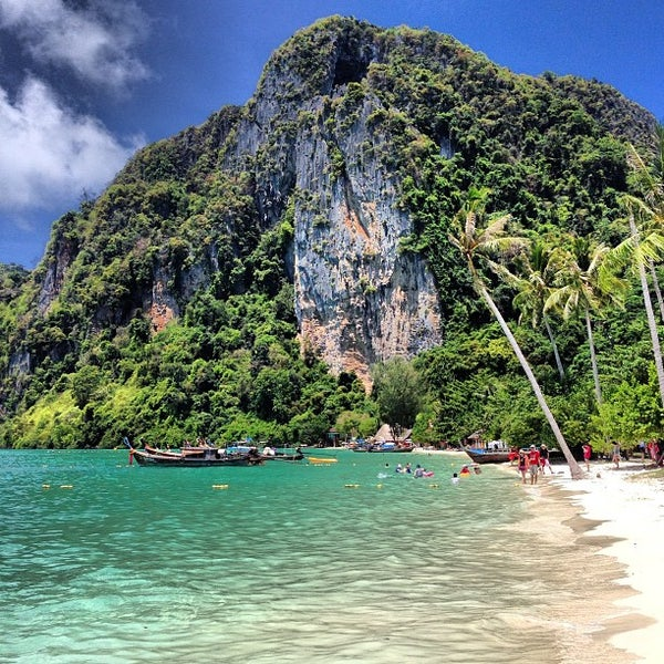 Photo taken at Phi Phi Island by Alexander P. on 4/28/2013