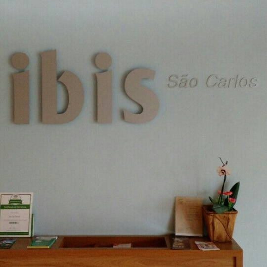 Photo taken at ibis São Carlos by Steve S. on 10/17/2015