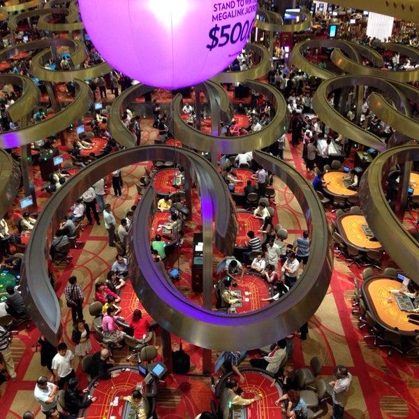 Photo taken at Marina Bay Sands Casino by Anita Maria R. on 11/2/2013