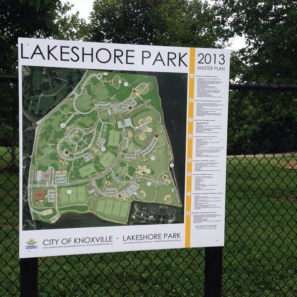 Photo taken at Lakeshore Park by Adam C. on 8/9/2014