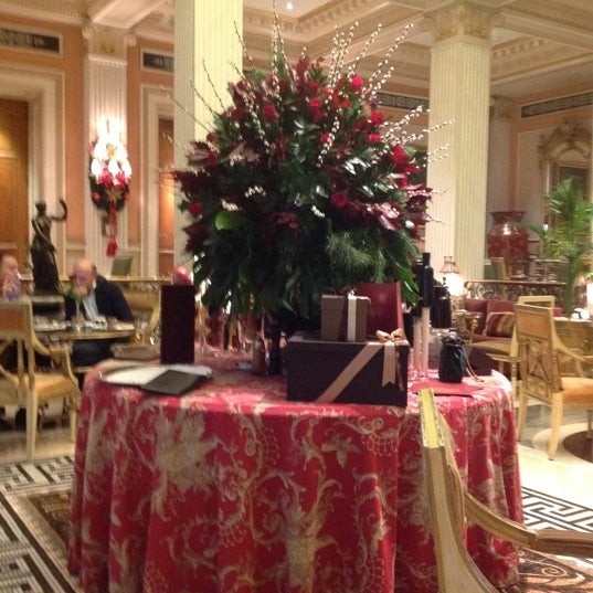 Photo taken at Hotel Grande Bretagne by Mina B. on 11/26/2012
