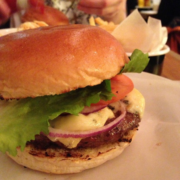 Blue cheese burger is delicious! Read our full review on Scoff London: http://scofflondon.com/restaurants/byron-review-islington-n1/