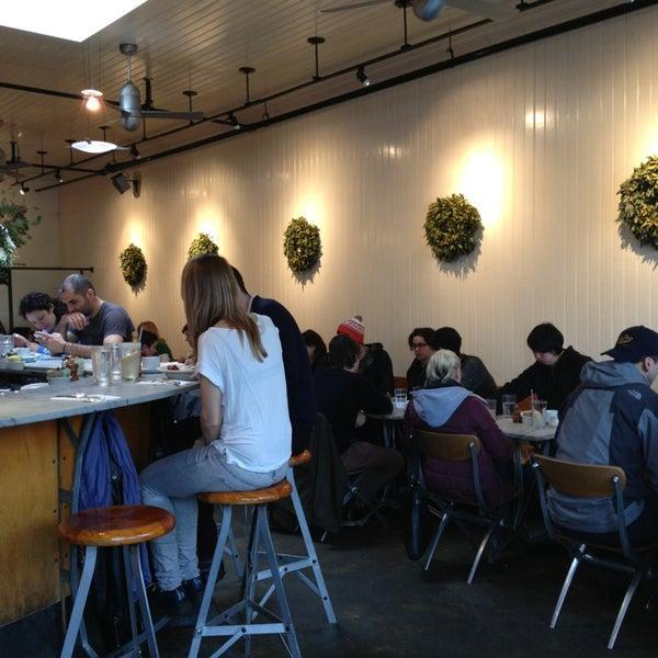Photo taken at Universal Cafe by KaRiM O. on 12/23/2012