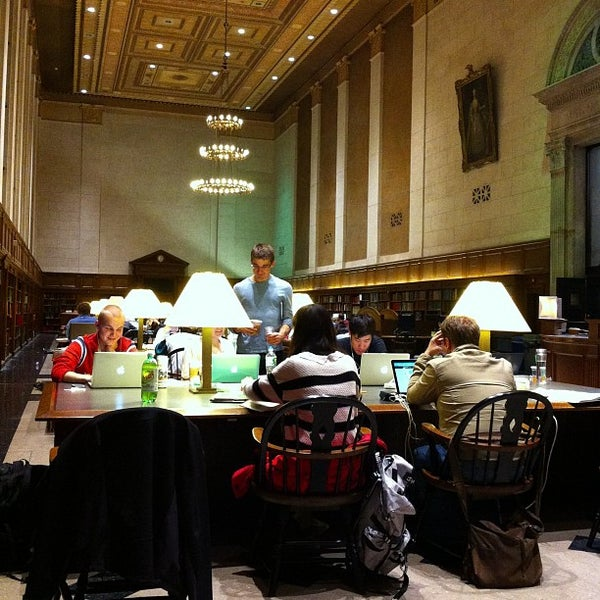 Photo taken at Butler Library by Eduard M. on 11/12/2012