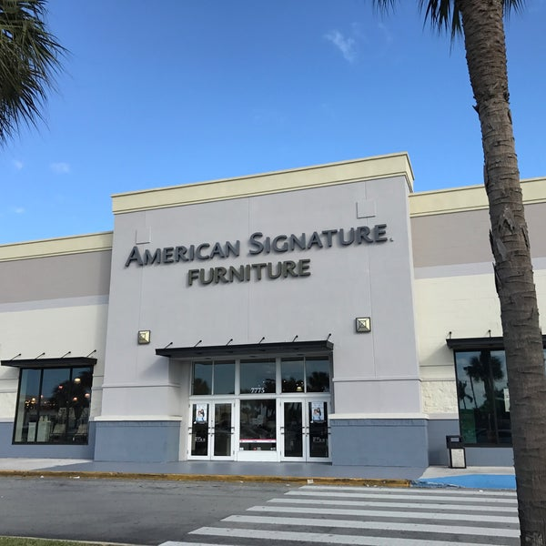 All American Furniture Stores In Dundee Fl: American Signature Furniture