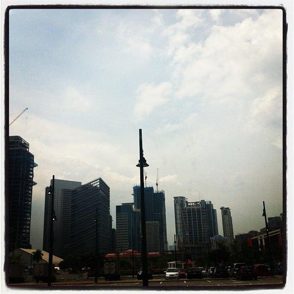 Photo taken at Bonifacio High Playground by Nap Jr. O. on 9/20/2012