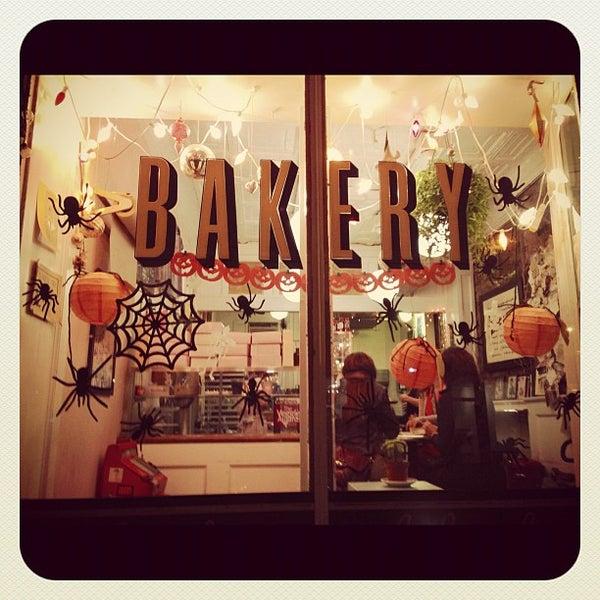 Photo taken at Erin McKenna's Bakery by jessica m. h. on 10/23/2012