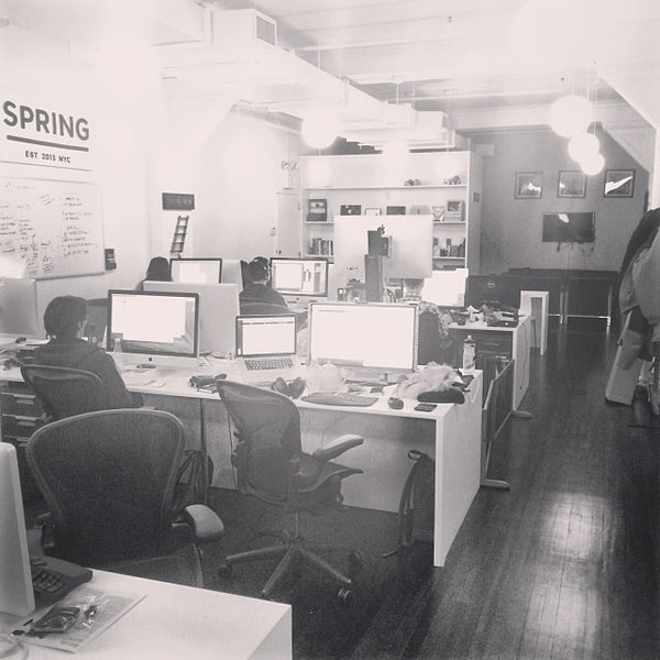 Photo taken at Spring HQ by Octavian C. on 1/11/2014