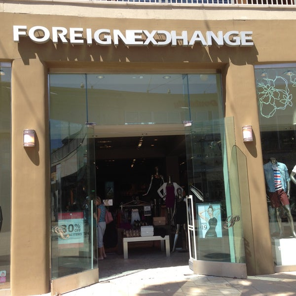 Foreign exchange clothing store locations