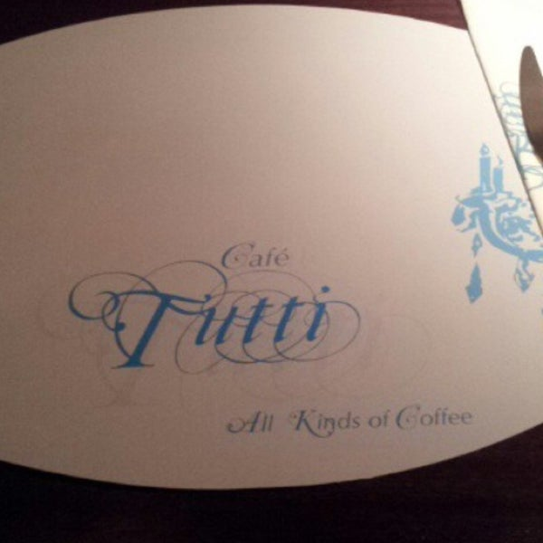Photo taken at Tutti Cafè by Talal A. on 3/4/2013