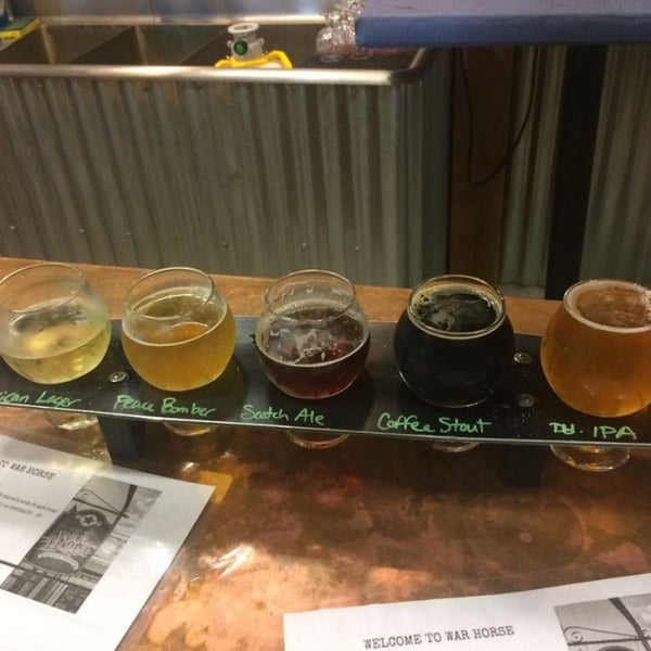 Photo taken at War Horse Brewery by Mitch R. on 8/1/2017
