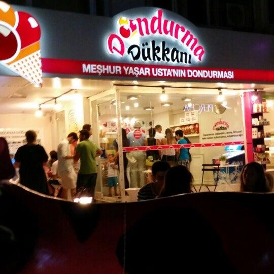 7/26/2014 tarihinde Duygu E.ziyaretçi tarafından Dondurma Dükkanı'de çekilen fotoğraf