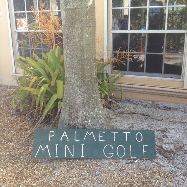 Photo taken at Palmetto Golf Course by Sophia C. on 7/8/2013