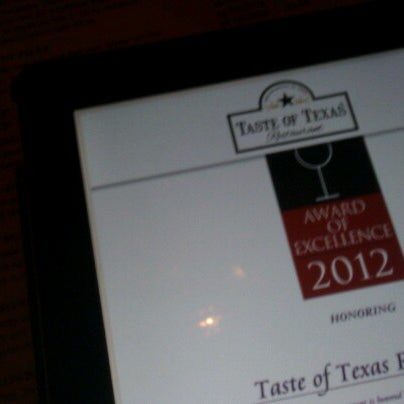 Foto tomada en Taste of Texas por Michael O. el 1/20/2013