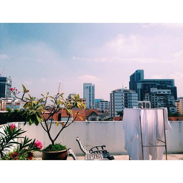 11/24/2014 tarihinde Guilherme N.ziyaretçi tarafından Udee Bangkok Hostel'de çekilen fotoğraf