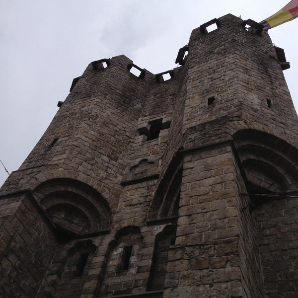 Photo taken at Castle of the Counts by Nadine B. on 4/13/2013
