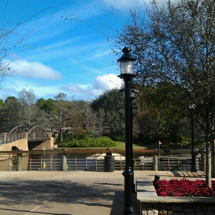 Photo taken at Disney's Port Orleans Riverside Resort by Bill S. on 12/16/2012
