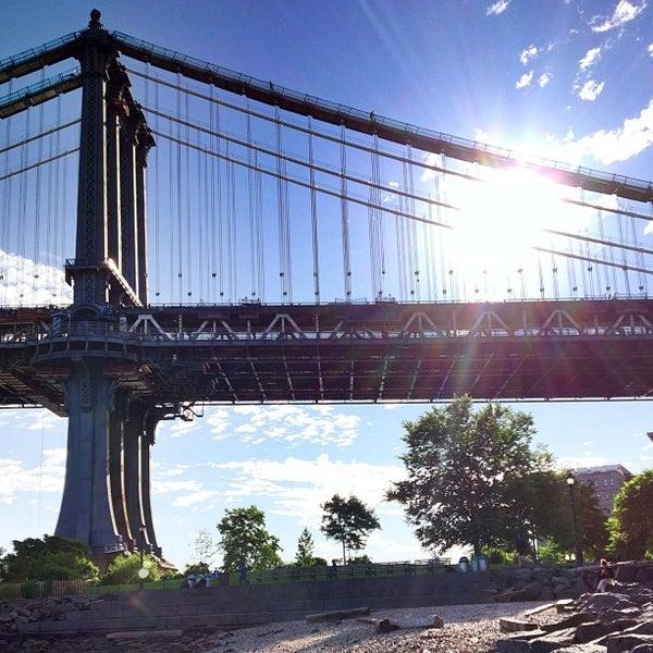 Photo taken at Brooklyn Bridge Park by Chris P. on 6/12/2013