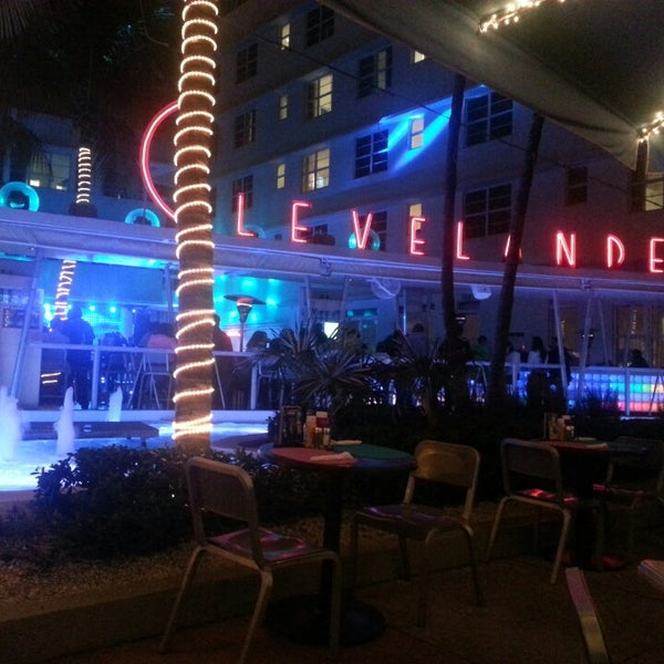 Photo taken at Clevelander South Beach Hotel and Bar by Guillermo M. on 3/3/2013