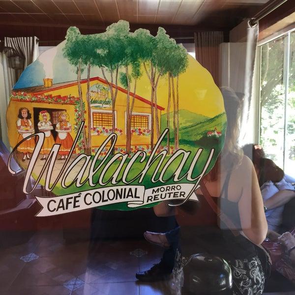 Foto tirada no(a) Café Colonial Walachay por Ricardo R. em 2/26/2017