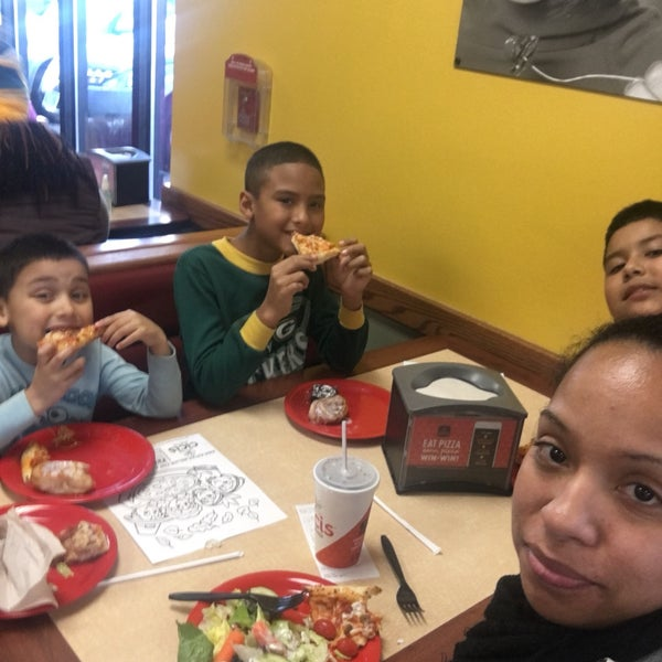Photo taken at Cicis by Victoria W. on 11/19/2016