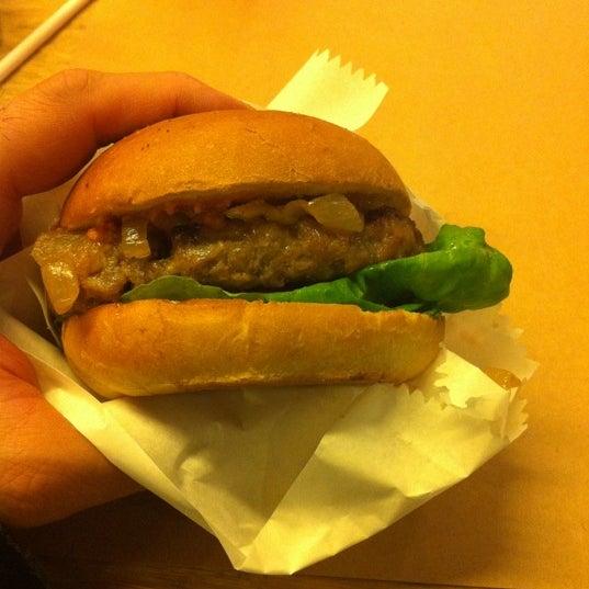 Photo taken at Biber Burger by Murat T. on 12/17/2012