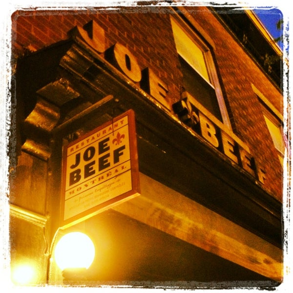 Photo taken at Joe Beef by Jonathan T. on 5/24/2013
