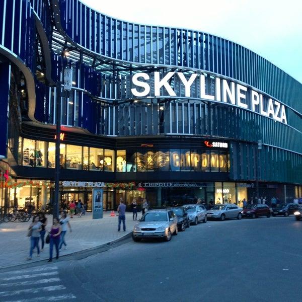 Skyline Plaza Shopping Mall In Frankfurt Am Main