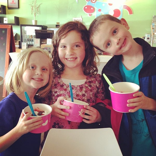 Photo taken at Smart Cow Yogurt Bar by Taryn D. on 4/19/2013