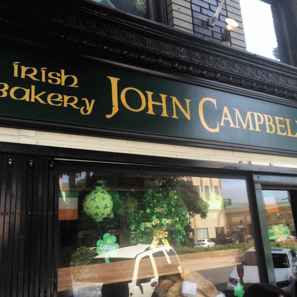 Photo taken at John Campbell's Irish Bakery by Wilfred W. on 4/3/2016