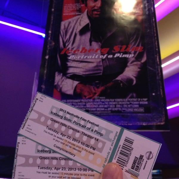 Photo taken at Regal Cinemas Green Hills 16 by Travis+Julie w. on 4/24/2013