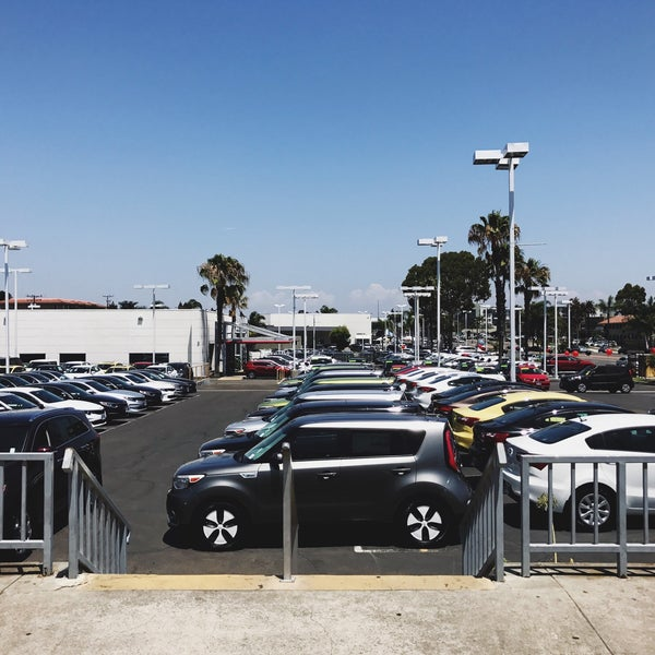 Photo Taken At Car Pros Kia Of Huntington Beach By Joey B. On 7/