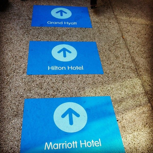 Photo taken at San Francisco Marriott Marquis by Steve R. on 9/20/2012