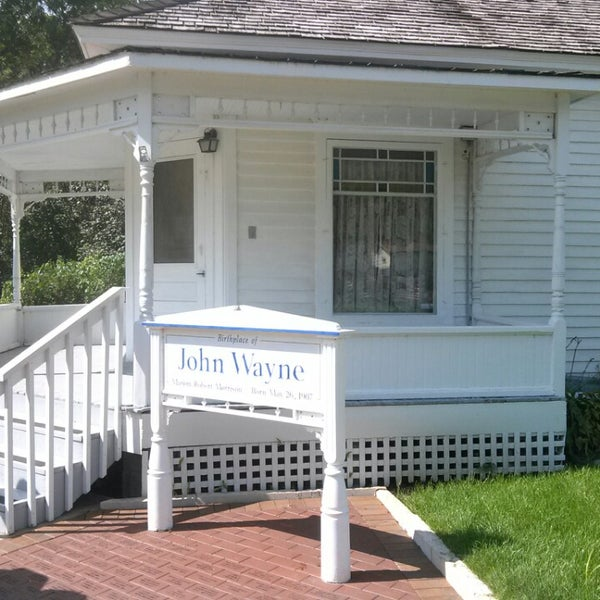 Photo taken at John Wayne Birthplace Museum by Jaime B. on 9/14/2014