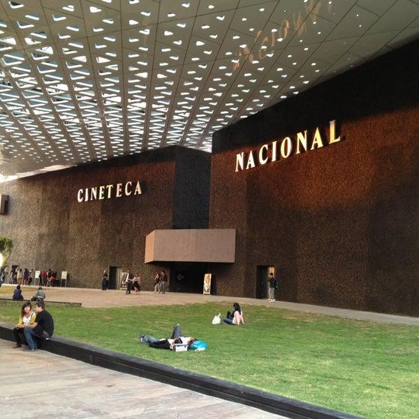 Foto tomada en Cineteca Nacional por Consuelo H. el 3/9/2013