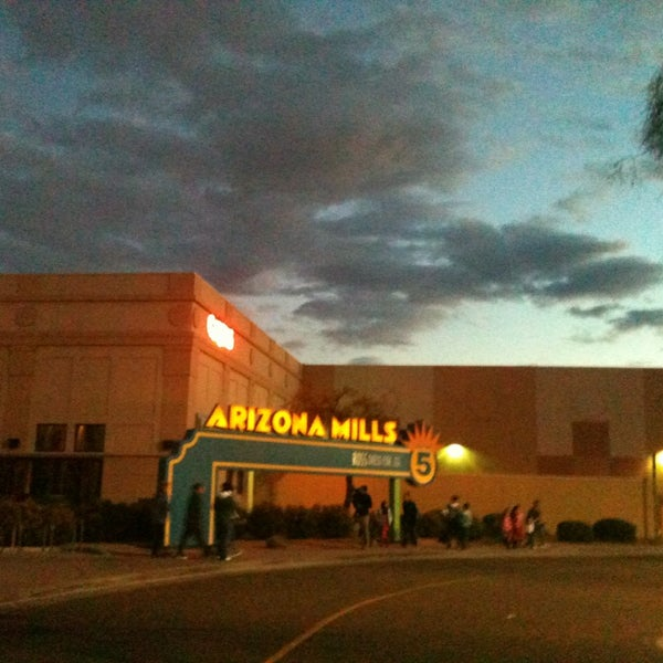 Photo taken at Arizona Mills by RiotgrrrlK97 on 2/10/2013