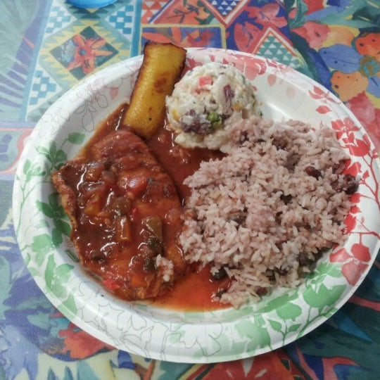 Photo taken at Mama Jamaica's Kitchen by Jim N. on 11/20/2012