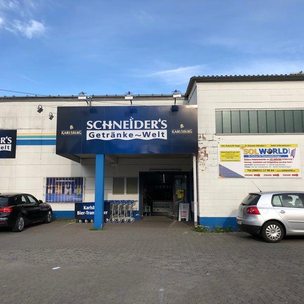 Schneider\'s Getränke-Welt - Food & Drink Shop