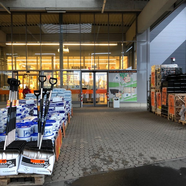 Photo Taken At HORNBACH By Tanja W. On 1/3/2018