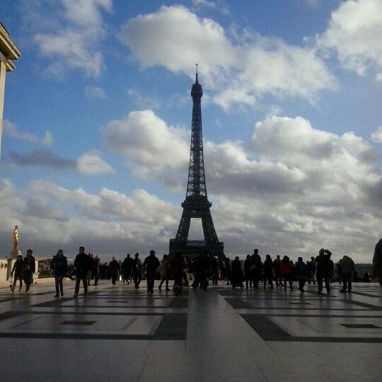 Photo prise au Place du Trocadéro par Eugene H. le12/25/2012