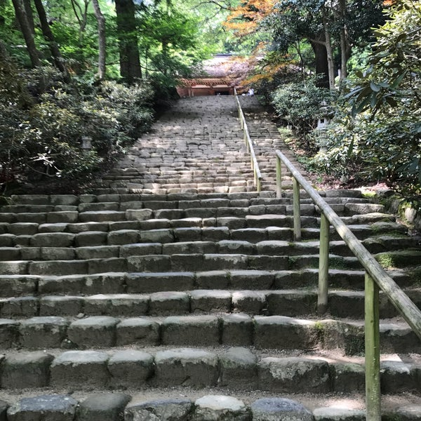 Photo taken at 室生寺 by tkdkz on 7/16/2017