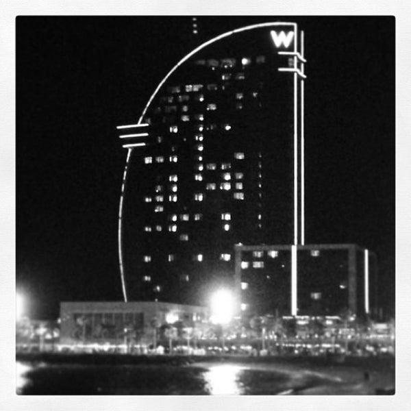 Photo taken at W Barcelona by Tio Lule on 7/10/2013