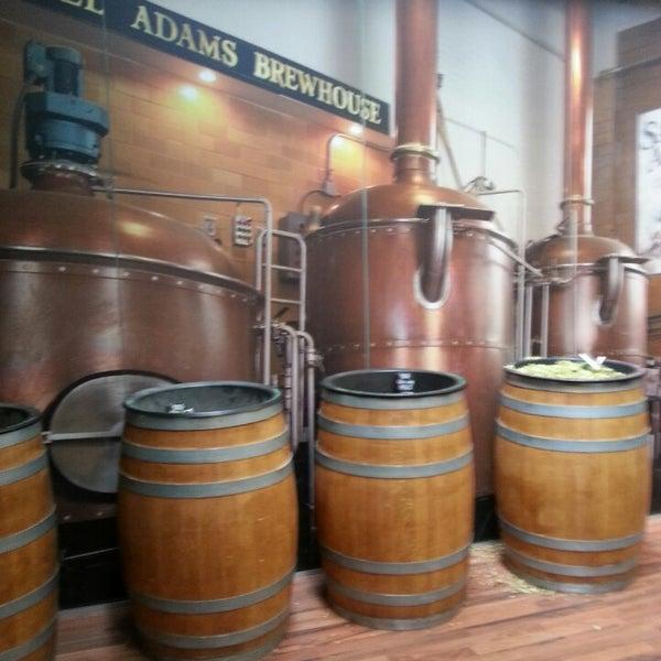 Photo taken at Samuel Adams Brewery by Aaron K. on 5/25/2013