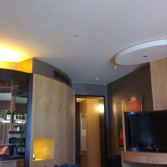 Photo taken at Shangri-La Hotel by Ali S. on 2/14/2013