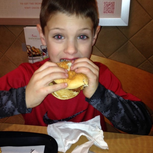 Photo taken at Chick-fil-A Holly Springs by Adam S. on 2/7/2014
