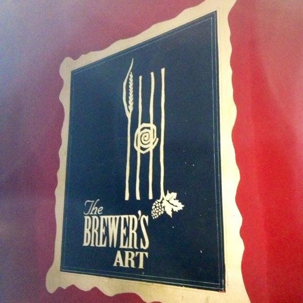 Photo taken at The Brewer's Art by Derek L. on 2/9/2013