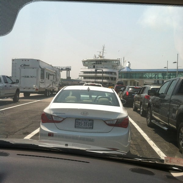 Photo taken at Cape May-Lewes Ferry | Cape May Terminal by Lynne D. on 7/19/2013